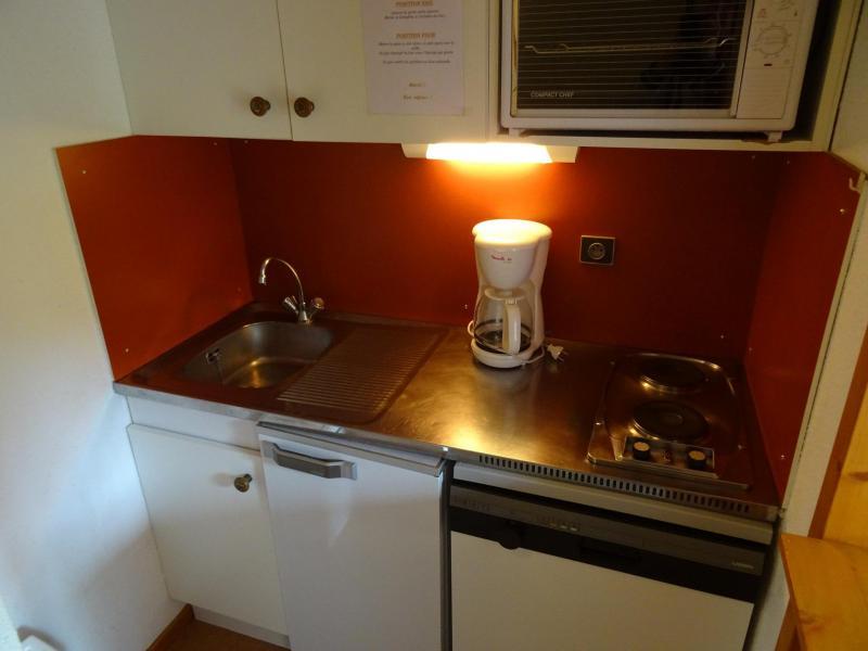Location au ski Studio cabine 3 personnes (617) - Résidence Michailles - Peisey-Vallandry - Cuisine