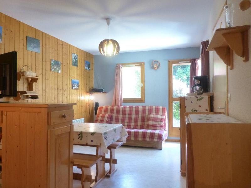 Rent in ski resort 2 room apartment sleeping corner 6 people (4403) - Résidence Neige et Soleil D - Peisey-Vallandry - Living room