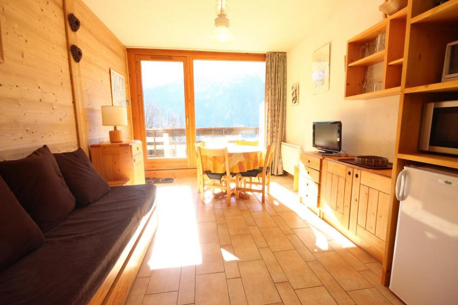 Location au ski Studio coin montagne 4 personnes (26) - Résidence Plein Sud - Peisey-Vallandry - Banquette