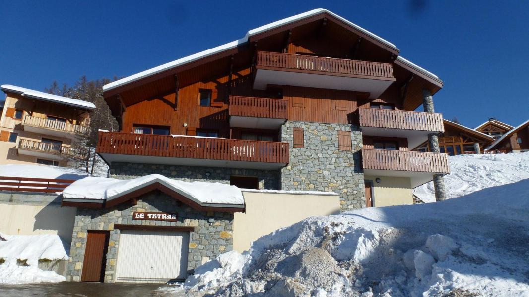 Urlaub in den Bergen Résidence Tétras - Peisey-Vallandry - Draußen im Winter