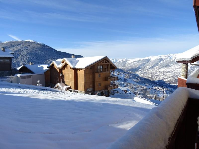 Holiday in mountain resort 4 room apartment 8 people (09R) - Résidence Tétras - Peisey-Vallandry - Winter outside