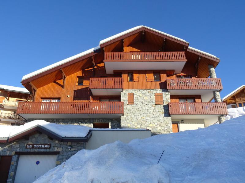 Urlaub in den Bergen 4-Zimmer-Appartment für 8 Personen (09R) - Résidence Tétras - Peisey-Vallandry - Draußen im Winter
