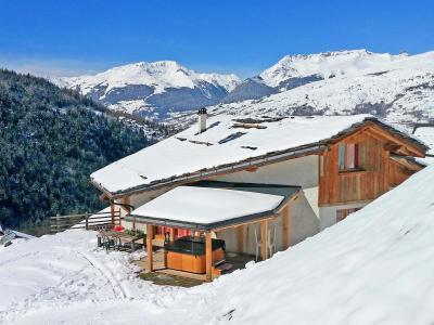 Wynajem Peisey-Vallandry : Chalet Balcon du Paradis zima
