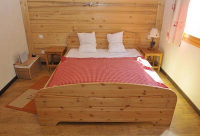 Location au ski Chalet triplex 9 pièces 14 personnes - Chalet Balcon Du Paradis - Peisey-Vallandry - Chambre mansardée