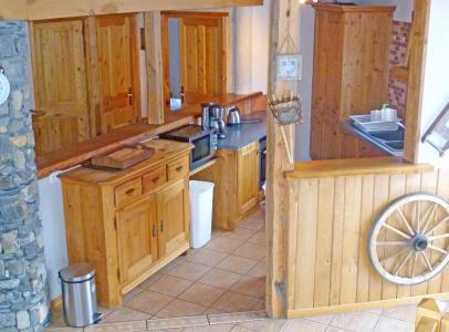 Location au ski Chalet Balcon du Paradis - Peisey-Vallandry - Cuisine