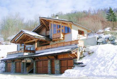Location au ski Chalet triplex 9 pièces 14 personnes - Chalet Balcon Du Paradis - Peisey-Vallandry - Extérieur hiver