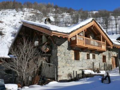 Location au ski Chalet duplex 5 pièces 8 personnes - Chalet Coeur Du Paradis - Peisey-Vallandry - Extérieur hiver