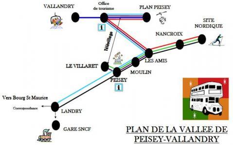 Location au ski Chalet duplex 5 pièces 8 personnes - Chalet Coeur Du Paradis - Peisey-Vallandry - Intérieur