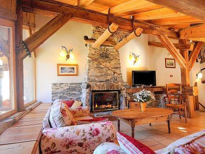 Location au ski Chalet Coeur du Paradis - Peisey-Vallandry - Séjour