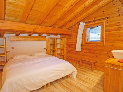 Rent in ski resort Chalet d'Alfred - Peisey-Vallandry - Bedroom under mansard