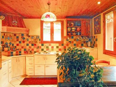 Rent in ski resort Chalet d'Alfred - Peisey-Vallandry - Kitchen