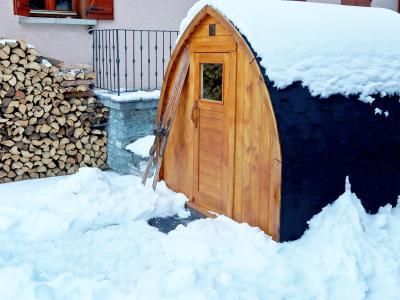 Rent in ski resort Chalet d'Alfred - Peisey-Vallandry - Sauna