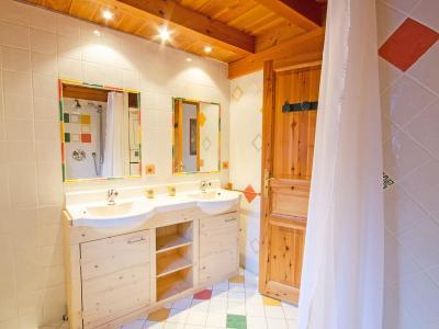 Rent in ski resort Chalet d'Alfred - Peisey-Vallandry - Shower room