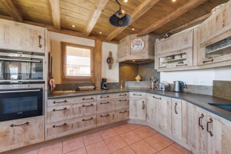 Location au ski Chalet 5 pièces 8 personnes (GSVL) - Chalet De Bellecote - Peisey-Vallandry - Salle à manger
