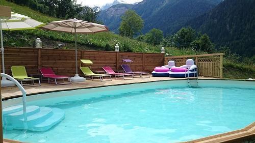Location au ski Chalet Des Domaines De La Vanoise - Peisey-Vallandry - Piscine