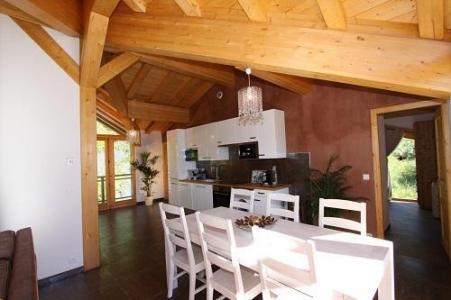 Location au ski Chalet Des Domaines De La Vanoise - Peisey-Vallandry - Salle à manger
