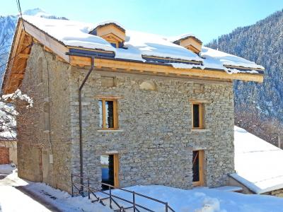 Rent in ski resort Chalet Esprit du Paradis - Peisey-Vallandry - Winter outside