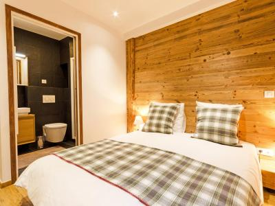 Rent in ski resort Chalet Esprit du Paradis - Peisey-Vallandry - Bedroom