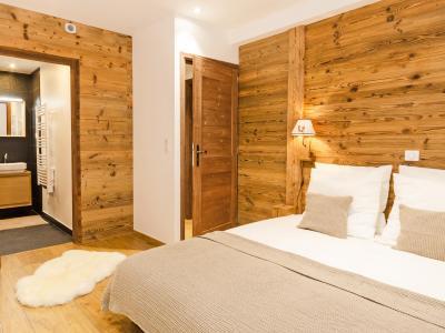 Rent in ski resort Chalet Esprit du Paradis - Peisey-Vallandry - Bedroom