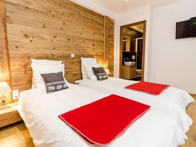 Rent in ski resort Chalet Esprit du Paradis - Peisey-Vallandry - Single bed
