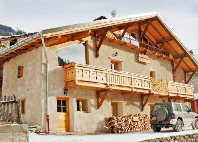 Location au ski Chalet duplex 9 pièces 15 personnes - Chalet Honore - Peisey-Vallandry - Extérieur hiver