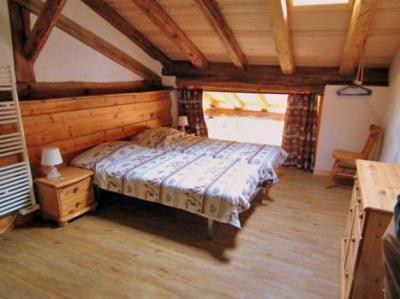 Location au ski Chalet duplex 9 pièces 15 personnes - Chalet Honore - Peisey-Vallandry - Chambre mansardée