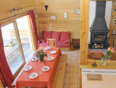 Location au ski Chalet triplex 5 pièces 8 personnes - Chalet Piccola Pietra - Peisey-Vallandry - Séjour