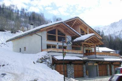 Location au ski Chalet triplex 5 pièces 8 personnes - Chalet Piccola Pietra - Peisey-Vallandry - Extérieur hiver