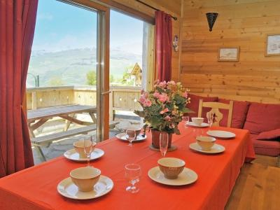 Location au ski Chalet Piccola Pietra - Peisey-Vallandry - Table