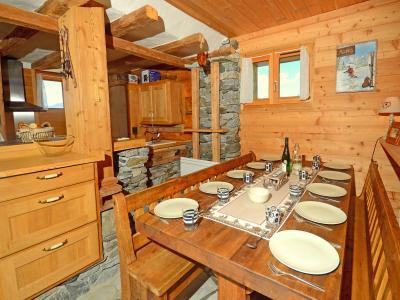 Location au ski Chalet Pierra Menta - Peisey-Vallandry - Table