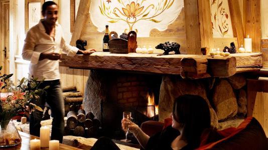 Rent in ski resort L'Orée des Cimes - Peisey-Vallandry - Reception