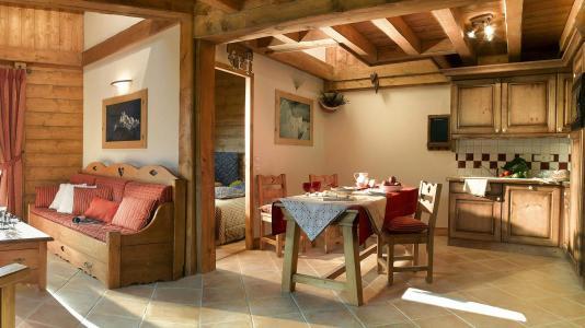 Rent in ski resort L'Orée des Cimes - Peisey-Vallandry - Dining area