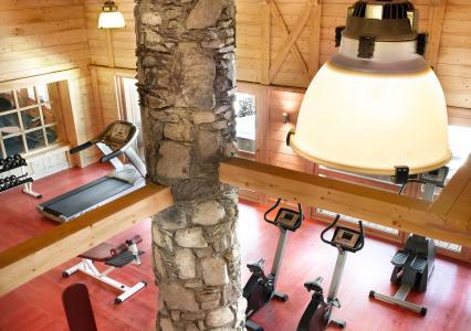 Location au ski L'Orée des Cimes - Peisey-Vallandry - Espace fitness