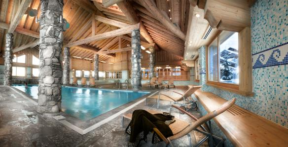 Location au ski L'Orée des Cimes - Peisey-Vallandry - Piscine