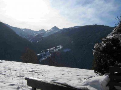 Location au ski Studio 4 personnes (03) - La Résidence le Parc - Peisey-Vallandry - Extérieur hiver