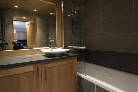 Rent in ski resort 3 room apartment 6 people (1410) - Les Granges de l'Epinette - Peisey-Vallandry - Bath-tub