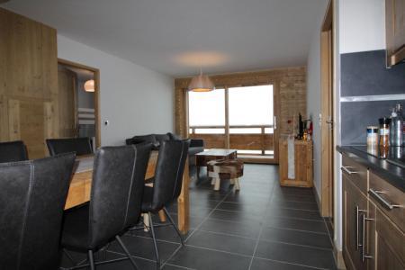 Rent in ski resort 3 room apartment 6 people (1410) - Les Granges de l'Epinette - Peisey-Vallandry - Living room