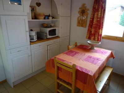 Location au ski Appartement 3 pièces 6 personnes (03) - Residence Castors - Peisey-Vallandry - Table