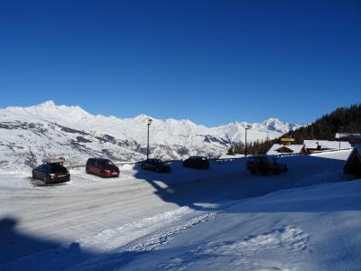 Location au ski Residence Castors - Peisey-Vallandry - Extérieur hiver
