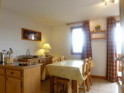 Location au ski Appartement 3 pièces cabine 6 personnes (11) - Residence Choucas - Peisey-Vallandry - Salle à manger