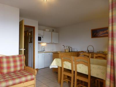 Location au ski Appartement 3 pièces cabine 6 personnes (11) - Residence Choucas - Peisey-Vallandry - Table
