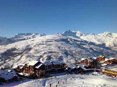 Location au ski Appartement 2 pièces coin montagne 5 personnes (90) - Residence Cret De L'ours - Peisey-Vallandry - Extérieur hiver