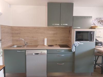 Location au ski Appartement 1 pièces 4 personnes (001) - Résidence Grande Ourse - Peisey-Vallandry - Chambre