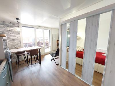 Location au ski Appartement 1 pièces 4 personnes (001) - Résidence Grande Ourse - Peisey-Vallandry - Séjour