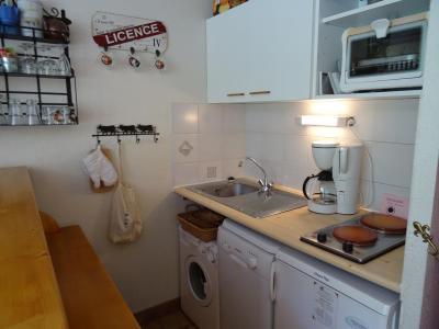Location au ski Appartement 1 pièces 4 personnes (021R) - Résidence Grande Ourse - Peisey-Vallandry - Kitchenette
