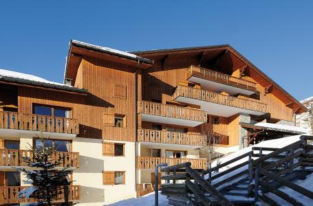 Location au ski Résidence Lagrange l'Arollaie - Peisey-Vallandry - Extérieur hiver