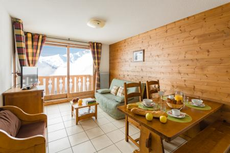 Rent in ski resort Résidence Lagrange l'Arollaie - Peisey-Vallandry - Living room
