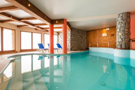 Location au ski Residence Lagrange L'arollaie - Peisey-Vallandry - Piscine