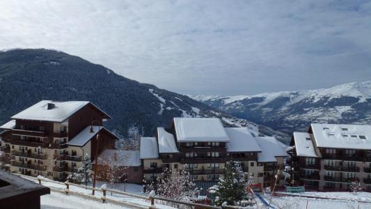 Vacances en montagne Studio coin montagne 5 personnes (77) - Résidence le Crêt de l'Ours 1 - Peisey-Vallandry - Extérieur hiver