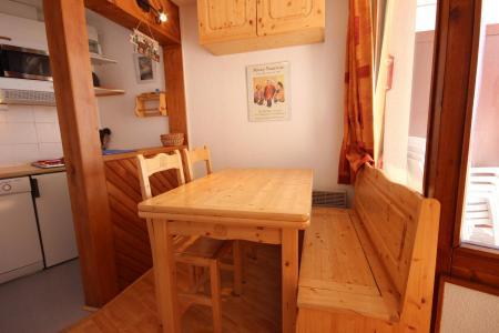 Location au ski Appartement 2 pièces 4 personnes (007) - Résidence le Crêt de l'Ours 2 - Peisey-Vallandry - Coin repas